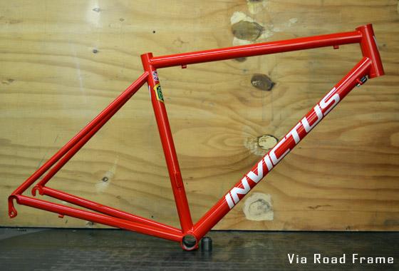 custom made road bike frame